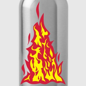 Feuer Flamme 310 T-Shirts - Trinkflasche