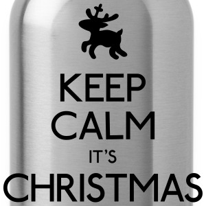 keep calm christmas blijf kalm kerstmis Sweaters - Drinkfles