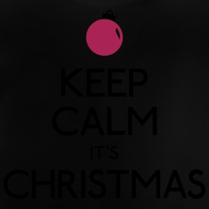 keep calm christmas hålla lugn jul T-shirts - Baby-T-shirt