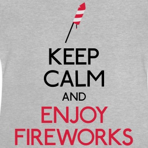 keep calm fireworks Shirts - Baby T-Shirt