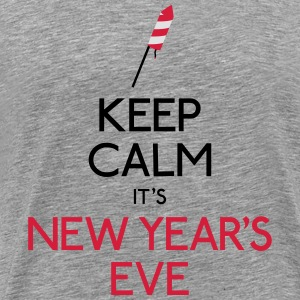 keep calm new year Hoodies & Sweatshirts - Men's Premium T-Shirt