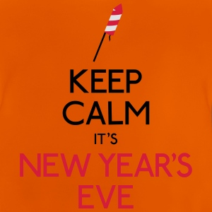 keep calm new year holde roligt nytår T-shirts - Baby T-shirt