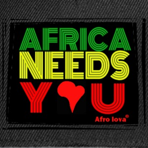 africa needs U Afro Lova Tee shirts - Casquette snapback