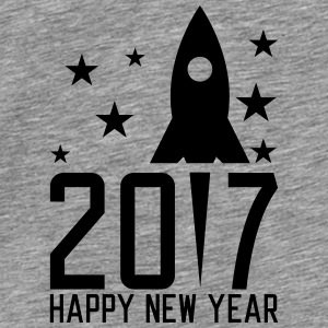 Happy New Year 2017 Tops - Men's Premium T-Shirt