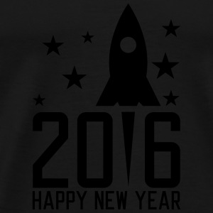 Happy New Year 2016 Long Sleeve Shirts - Men's Premium T-Shirt