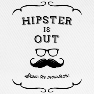 Hipster and mustache are out! Shave! Long Sleeve Shirts - Baseball Cap
