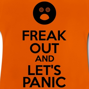 Freak Out And Let's Panic T-shirts - Baby-T-shirt