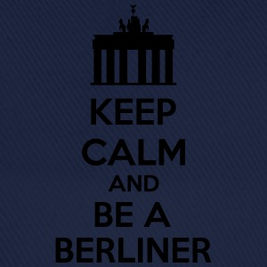 Keep Calm And Be A Berliner T-shirts - Basebollkeps