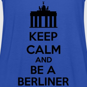 Keep Calm And Be A Berliner Camisetas - Camiseta de tirantes mujer, de Bella