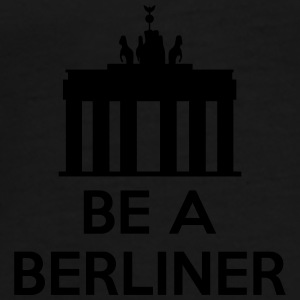 Be A Berliner Bamser - Herre premium T-shirt