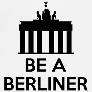 Be A Berliner Andet - Herre premium T-shirt