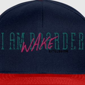 wakeboarder_vec_3 fr Tee shirts - Casquette snapback