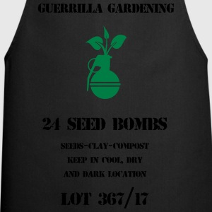 Seed bombs - Cooking Apron