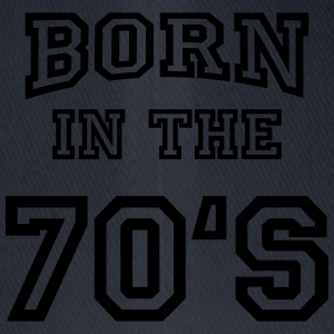 Born in the 70's Tee shirts - Casquette Flexfit