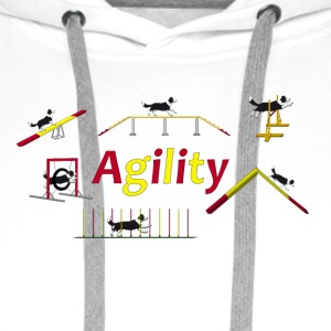 Agility equipment with Titel.png T-shirts - Premiumluvtröja herr