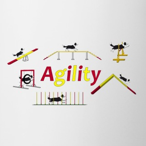 Agility equipment with Titel.png Shirts - Mok