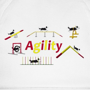 Agility equipment with Titel.png T-shirts - Basebollkeps