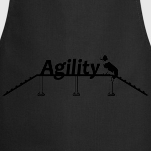 Agility bridge with Schrift.svg Hoodies & Sweatshirts - Cooking Apron