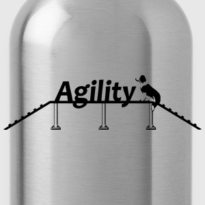 Agility bridge with Schrift.svg Sweatshirts - Drikkeflaske