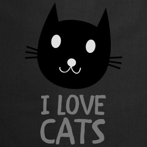 I Love Cats T-Shirts - Cooking Apron
