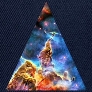 Triangle Mystic Mountain, Carina Nebula, Space, Galaxy, T-shirts - Snapbackkeps