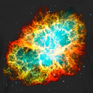 Supernova, Crab Nebula, Space, Galaxy, Milky Way Tee shirts - T-shirt manches longues Premium Homme