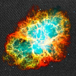 Supernova, Crab Nebula, Space, Galaxy, Milky Way Tee shirts - Casquette snapback