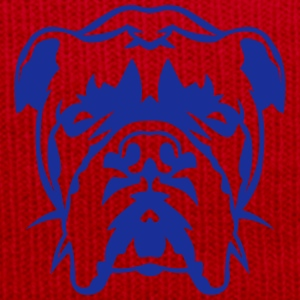bouldog bulldog tete animal 29092 Tee shirts - Bonnet d'hiver