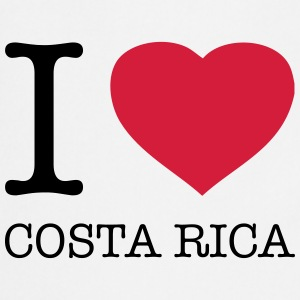 I LOVE COSTA RICA Tee shirts - Tablier de cuisine