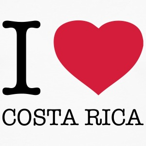 I LOVE COSTA RICA Tee shirts - T-shirt manches longues Premium Homme