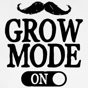 Moustache Grow Mode On Sweat-shirts - Casquette classique