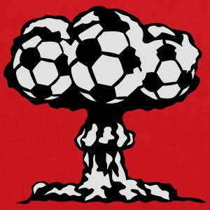 football explosion champignon nucleaire Tee shirts - Tote Bag