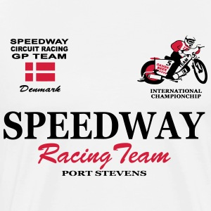 Speedway Poloshirt Team Denmark Polo Shirts - Men's Premium T-Shirt