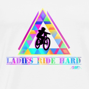 Ladies ride hard Tops - Men's Premium T-Shirt