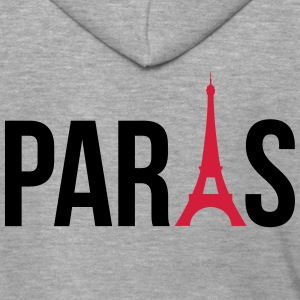 I love Paris, Paris mit Eifelturm im i T-Shirts - Men's Premium Hooded Jacket
