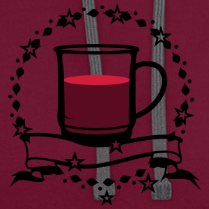 A cup of hot mulled wine T-Shirts - Contrast Colour Hoodie