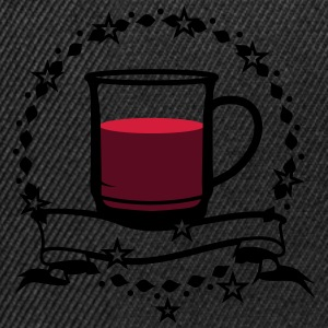 A cup of hot mulled wine T-Shirts - Snapback Cap