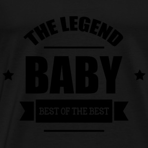 Baby, The Legend Sweatshirts - Herre premium T-shirt