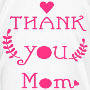 Thank you mom typo Contrasting Mug - Men's Premium T-Shirt