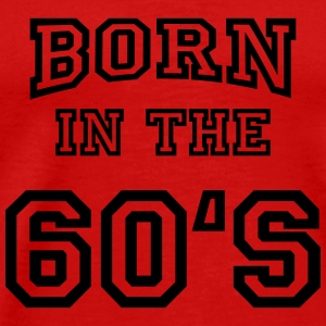Born in the 60's Manches longues - T-shirt Premium Homme