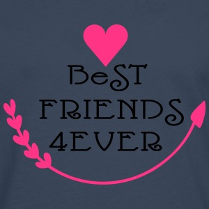 Best friends forever cool say Women's Boat Neck Lo - Men's Premium Longsleeve Shirt