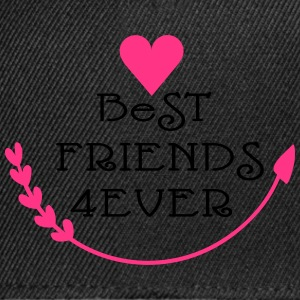 Best friends forever cool say Women's Boat Neck Lo - Snapback Cap