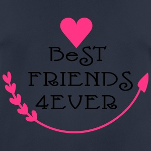 Best friends forever cool say Women's Boat Neck Lo - Men's Breathable T-Shirt