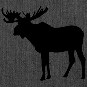 Moose T-Shirts - Shoulder Bag made from recycled material