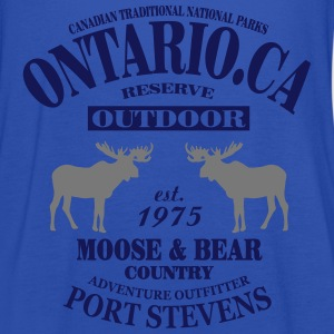 Canada - Moose & Bear Country T-Shirts - Women's Tank Top by Bella