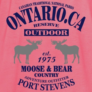 Canada - Moose & Bear Country Bluzy - Tank top damski Bella