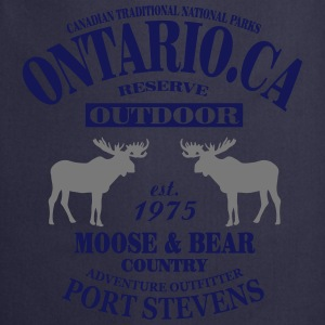 Canada - Moose & Bear Country T-shirts - Forklæde
