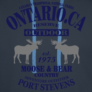 Canada - Moose & Bear Country T-Shirts - Men's Premium Hoodie
