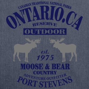 Canada - Moose & Bear Country Maglie a manica lunga - Borsa in materiale riciclato
