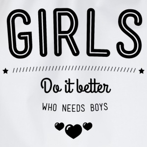 Girls do it better Tank Tops - Sportstaske